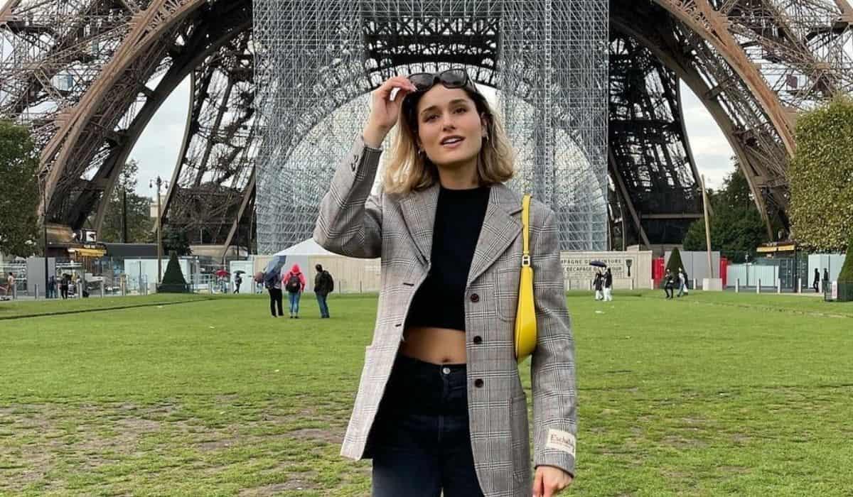 Sasha Meneghel posta álbum de cliques durante viagem em Paris