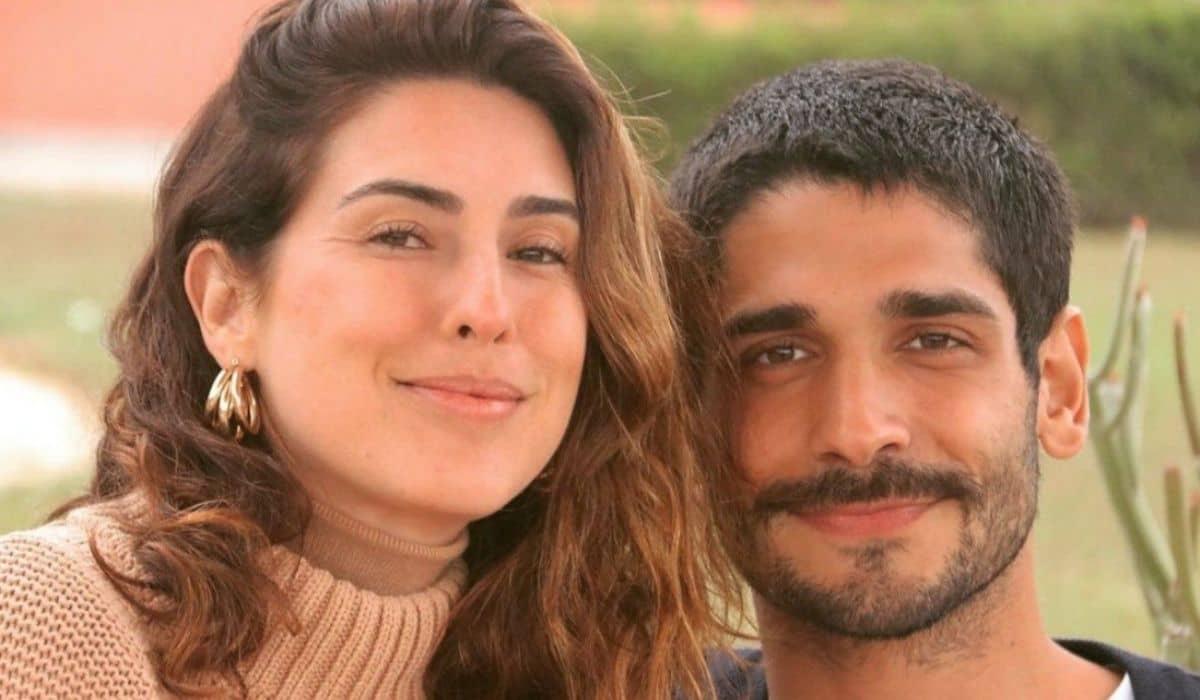 Fernanda Paes Leme ganha declaração amorosa do namorado: 'te amo'