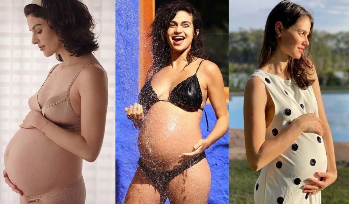 Confira as mamães famosas que anunciaram gravidez em 2021