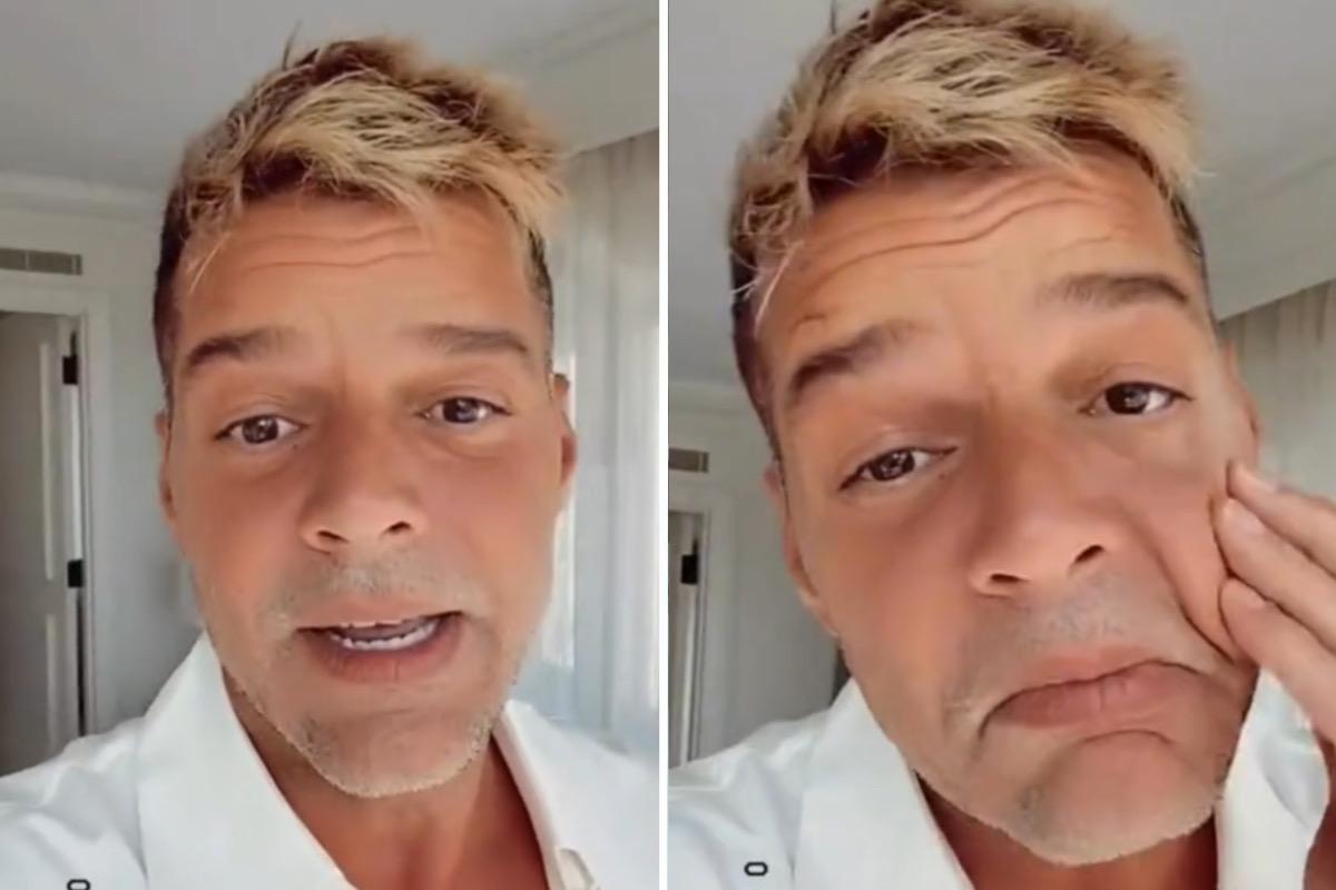 """Ricky Martin nega harmonização facial após críticas: """"Não mexo na cara"""""""