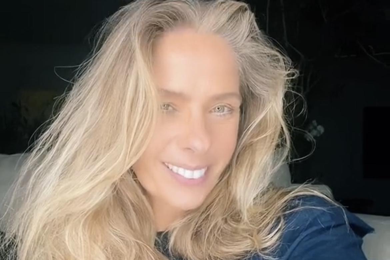 """Adriane Galisteu rebate comentário de internauta sugerindo rinoplastia: """"Experimente respeitar o próximo"""""""
